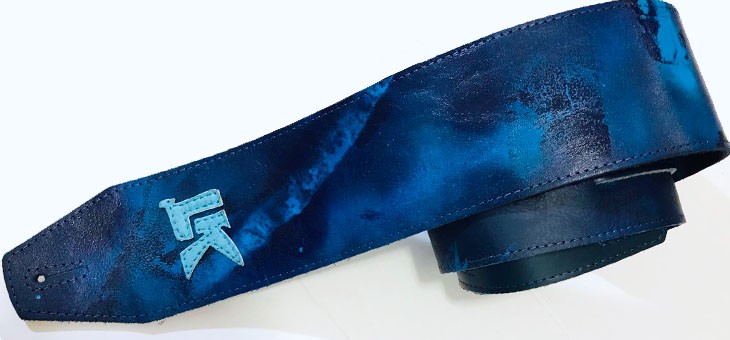 LK Straps - Quarantine Not Just The Flu Blue
